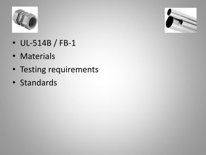 UL-514B / FB-1