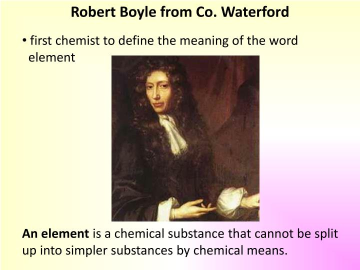 Robert Boyle from Co. Waterford
