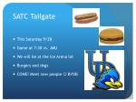 satc tailgate