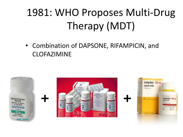 1981: WHO Proposes Multi-Drug Therapy (MDT)