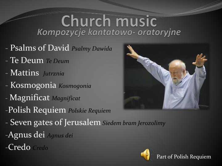 Kompozycje kantatowo-