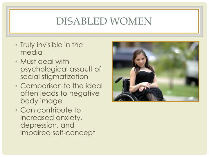 Disabled women