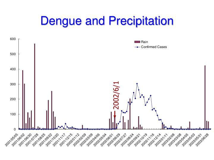 Dengue and Precipitation