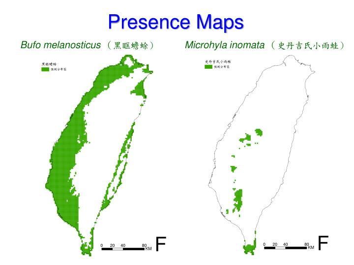Presence Maps
