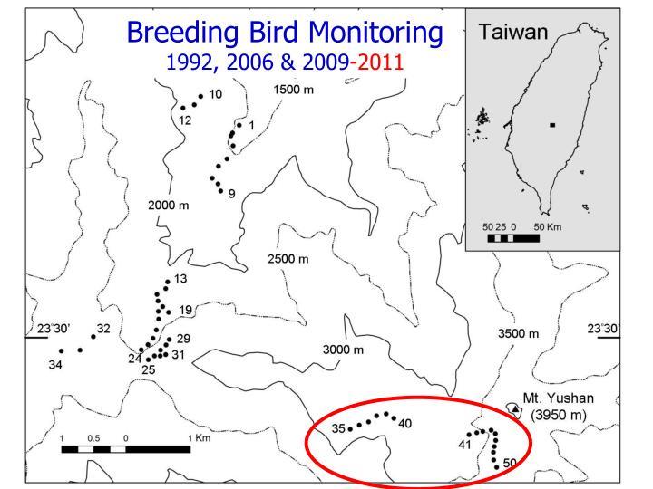 Breeding Bird Monitoring