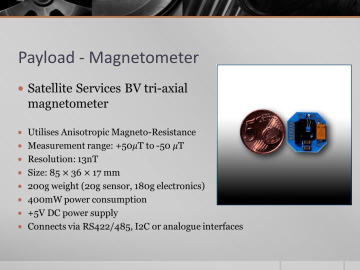 Payload - Magnetometer