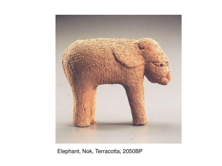 Elephant, Nok, Terracotta, 2050BP