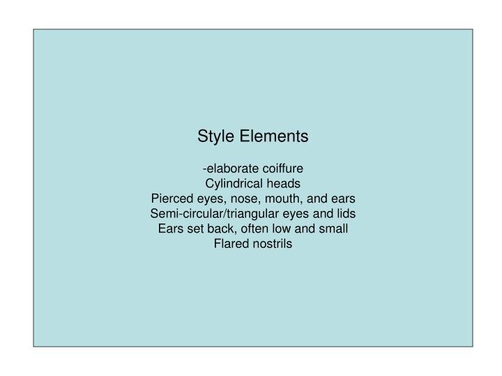 Style Elements