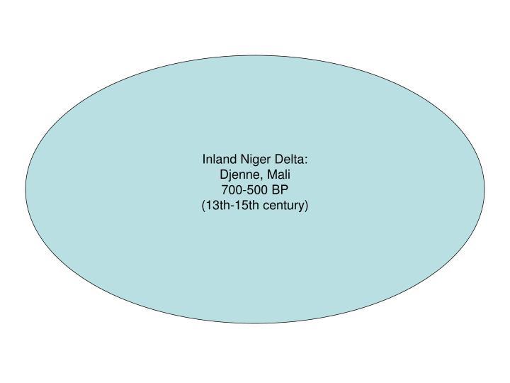 Inland Niger Delta: