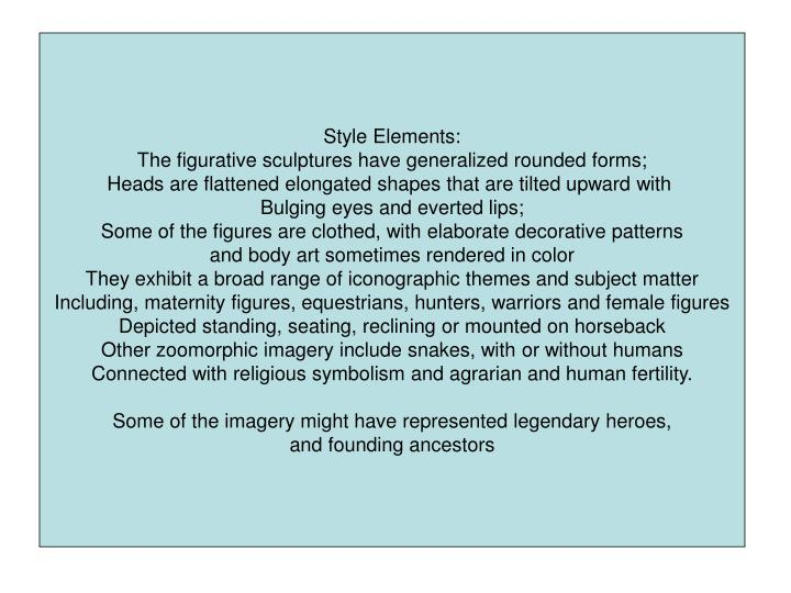 Style Elements:
