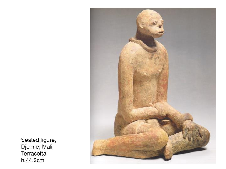 Seated figure,