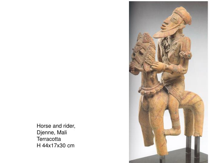 Horse and rider,