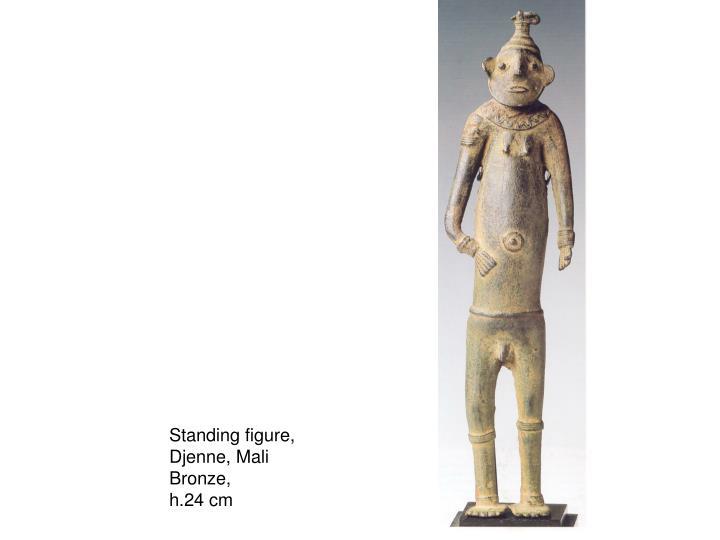 Standing figure,