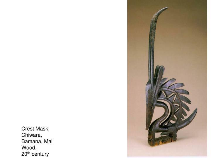 Crest Mask,