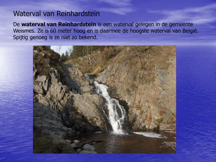 Waterval van Reinhardstein