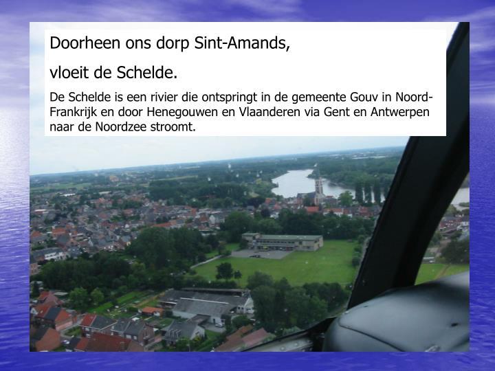 Doorheen ons dorp Sint-Amands,