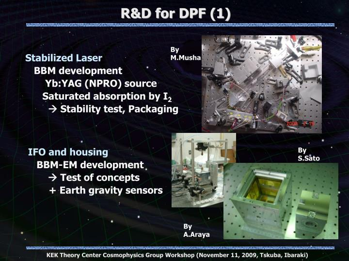R&D for DPF (1)