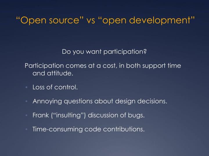 """""""Open source"""""""