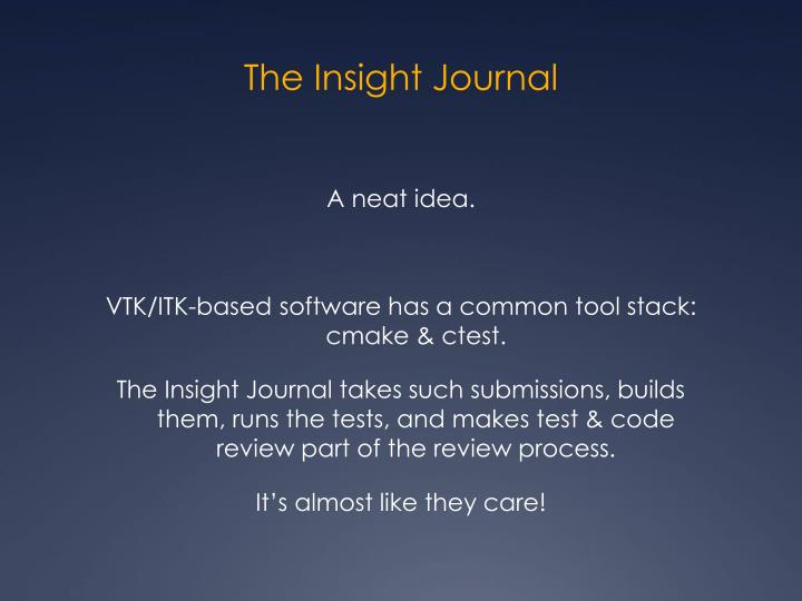 The Insight Journal