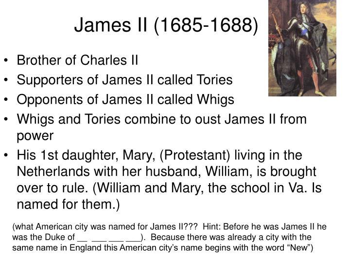 James II (1685-1688)