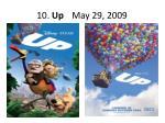 10 up may 29 2009