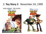 3 toy story 2 november 24 1999
