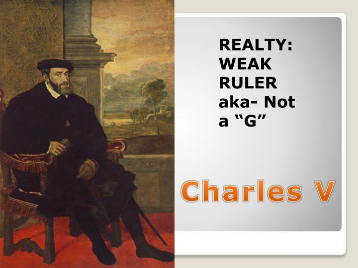 REALTY: WEAK RULER