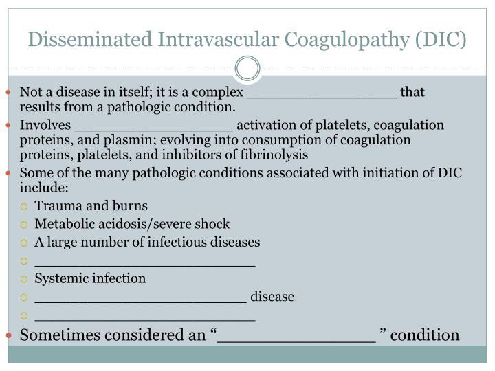 Disseminated Intravascular
