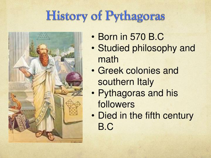 History of Pythagoras