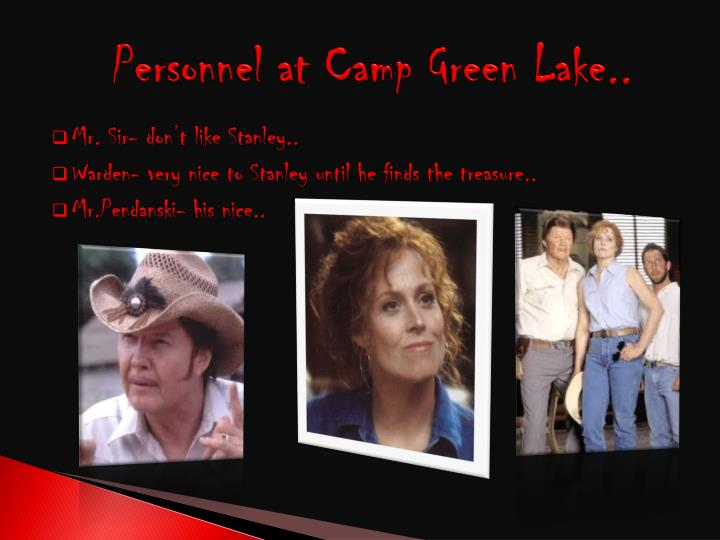 Personnel at Camp Green Lake..