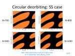 circular deorbiting ss case
