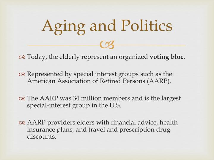 Aging and Politics