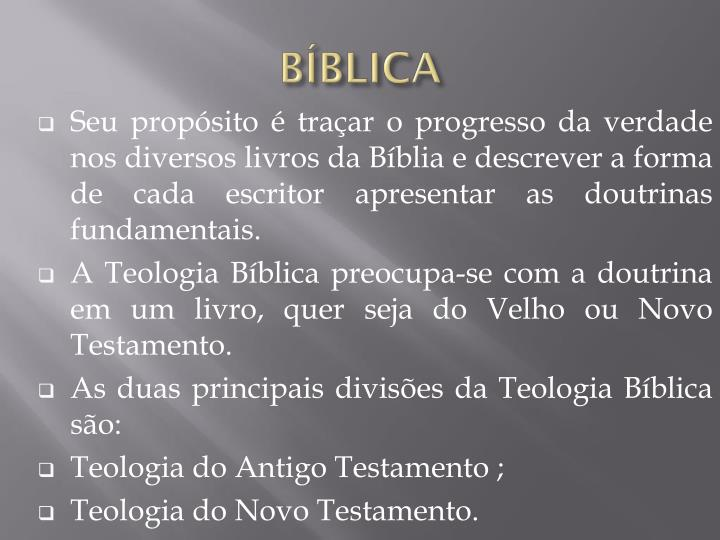 BÍBLICA