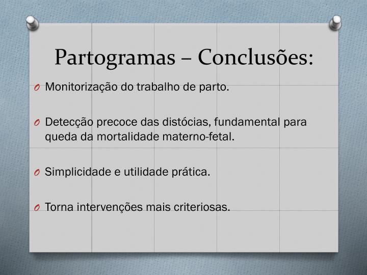 Partogramas