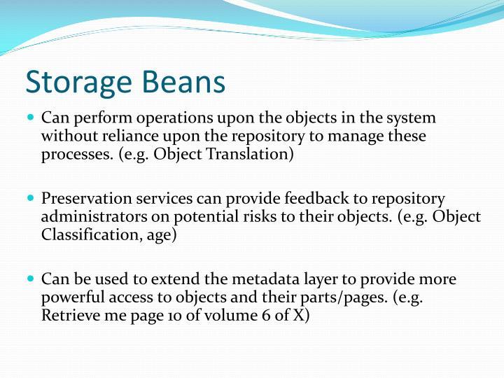 Storage Beans