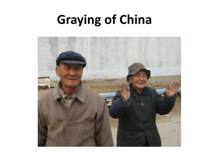 Graying of