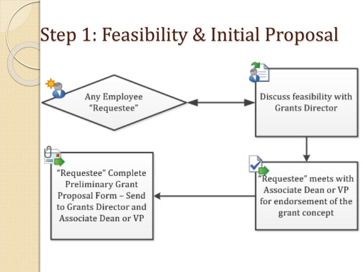 Step 1 feasibility initial proposal