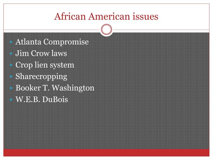 African American issues