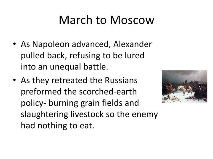 March to Moscow