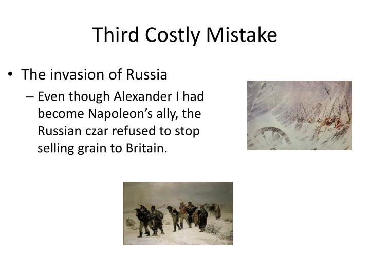 Third Costly Mistake
