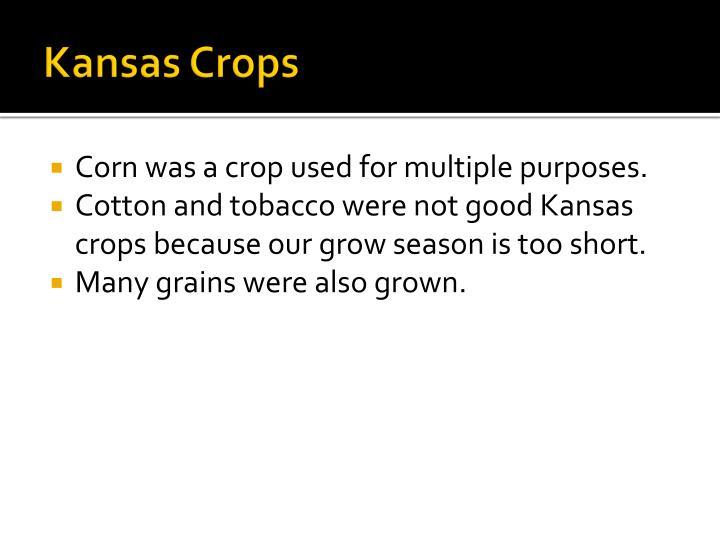 Kansas Crops