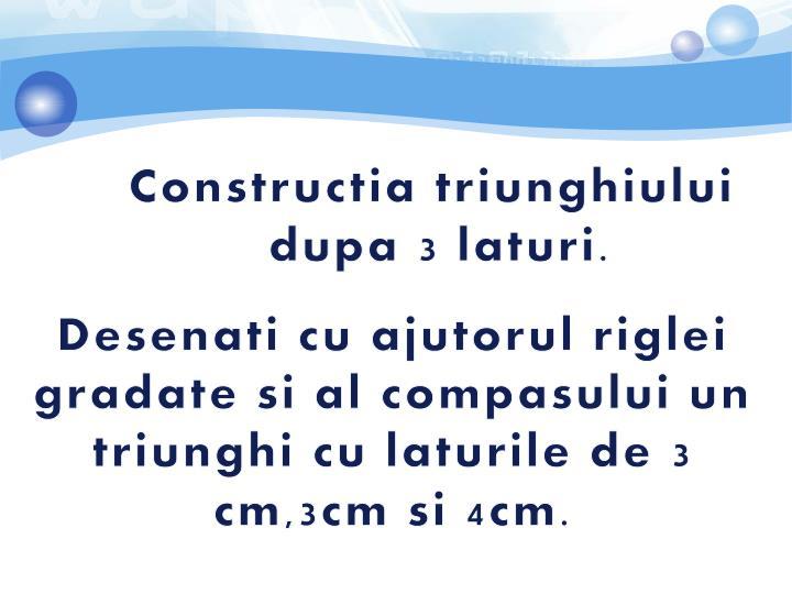 Constructia