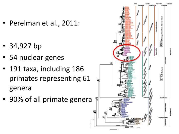 Perelman et al., 2011: