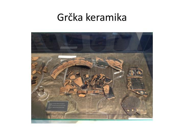 Grčka keramika