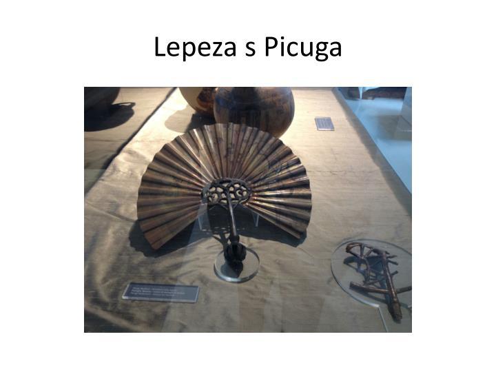 Lepeza s Picuga