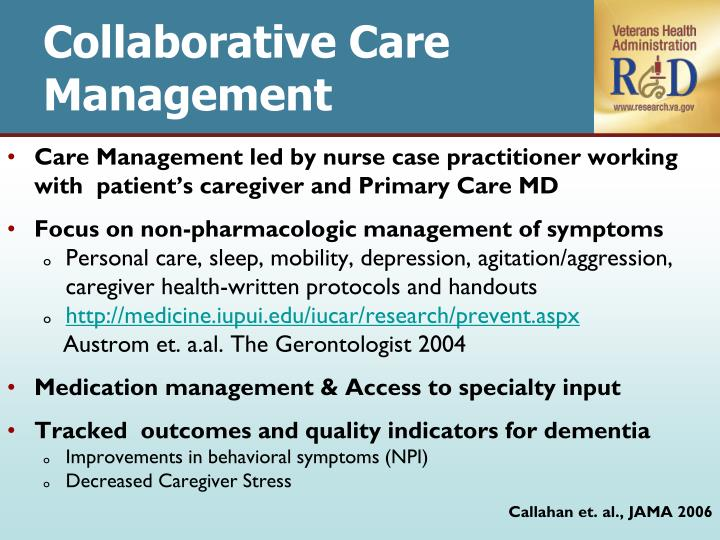 Collaborative Care Management
