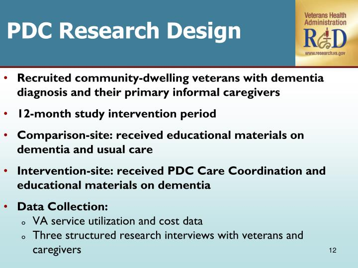 PDC Research Design