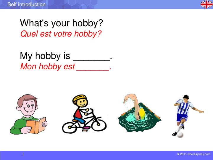 What's your hobby