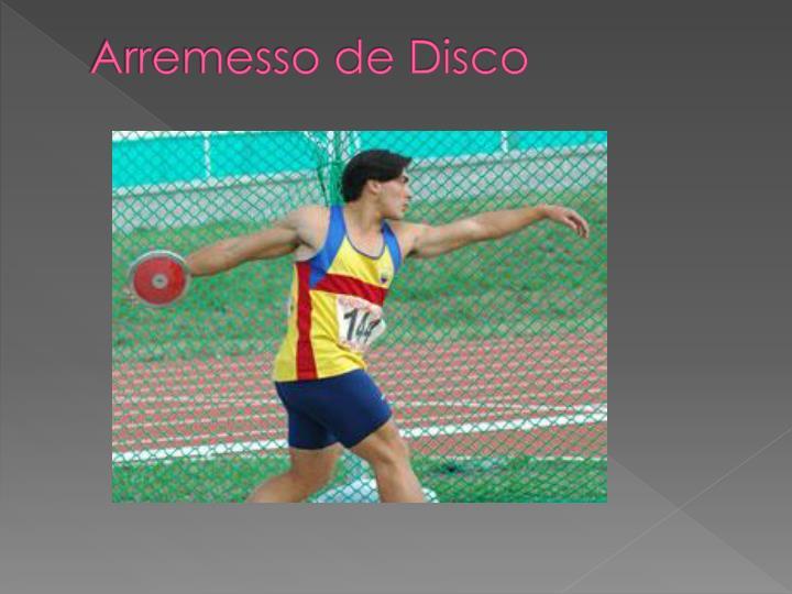Arremesso de Disco