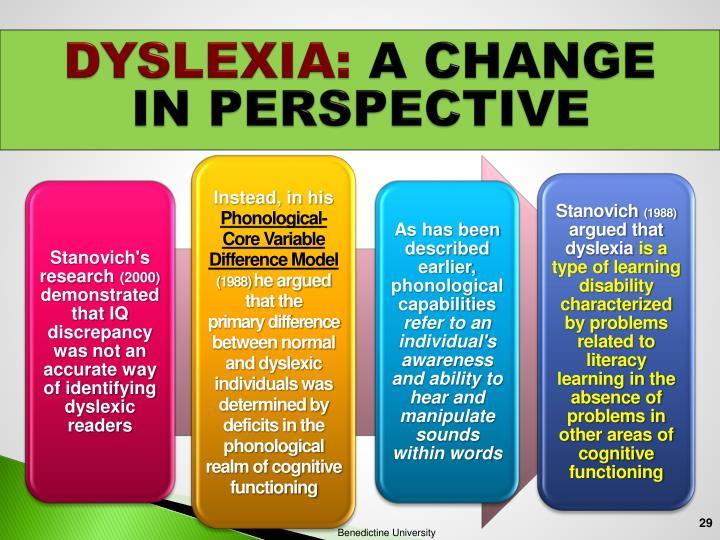 DYSLEXIA: